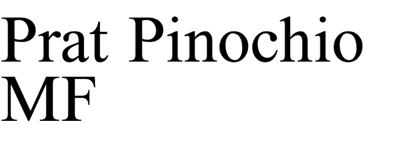 Prat Pinochio MF