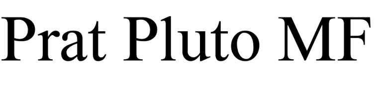 Prat Pluto MF
