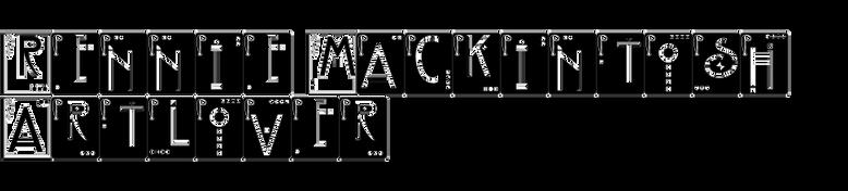 Rennie Mackintosh Artlover