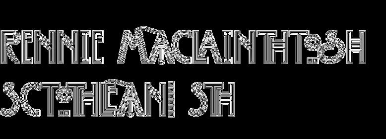Rennie Mackintosh Scotland St