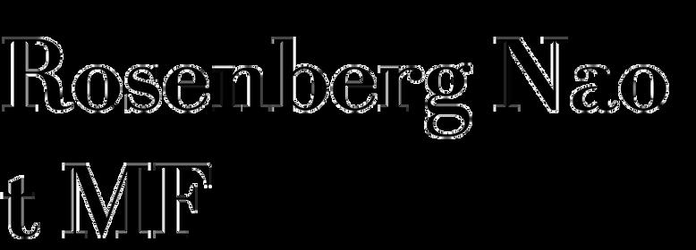 Rosenberg Naot MF
