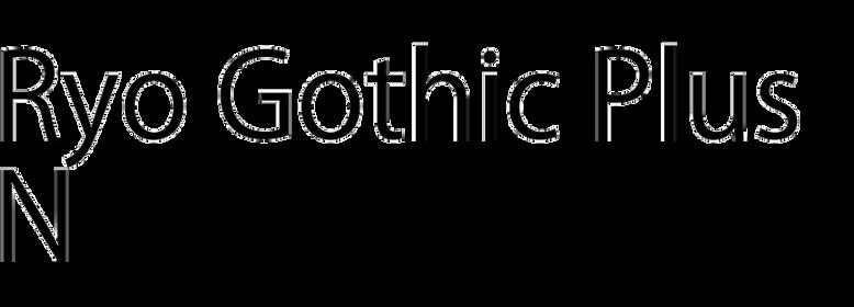 Ryo Gothic PlusN