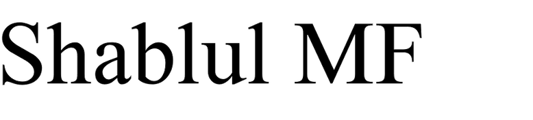 Shablul MF