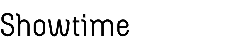 Showtime (Jonahfonts)