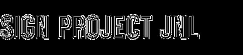 Sign Project JNL
