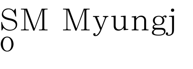 SM Myungjo