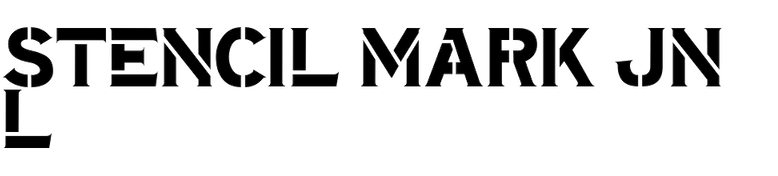 Stencil Mark JNL