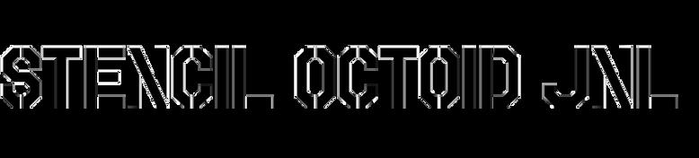 Stencil Octoid JNL