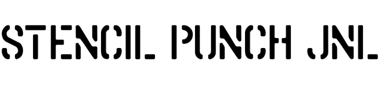 Stencil Punch JNL