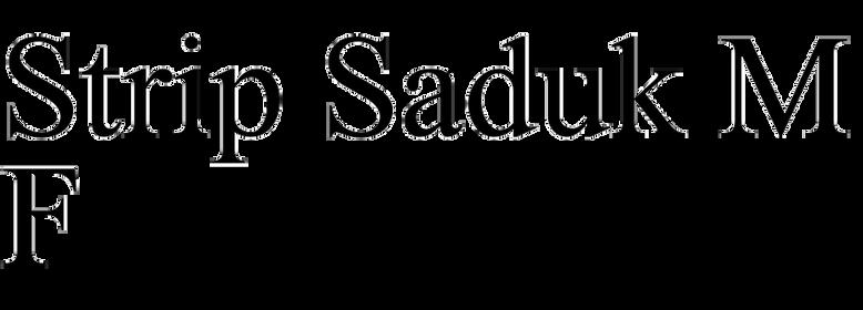 Strip Saduk MF