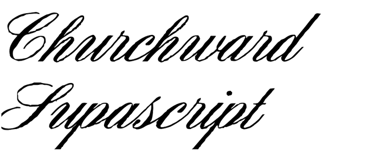 Churchward Supascript