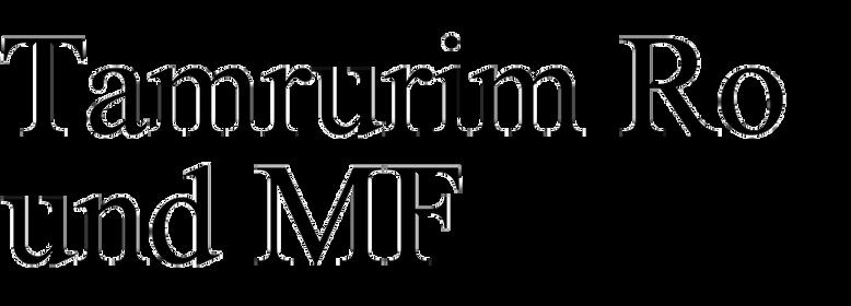 Tamrurim Round MF