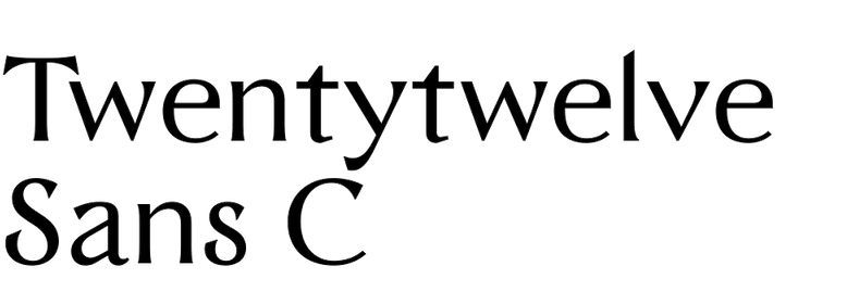 Twentytwelve Sans C