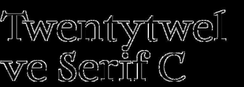 Twentytwelve Serif C