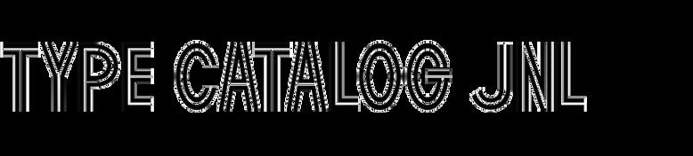 Type Catalog JNL