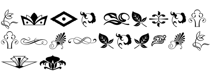 Type Embellishments Two