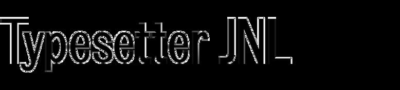 Typesetter JNL