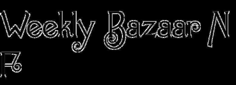 Weekly Bazaar NF