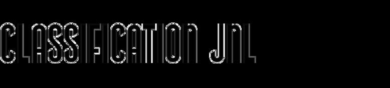 Classification JNL