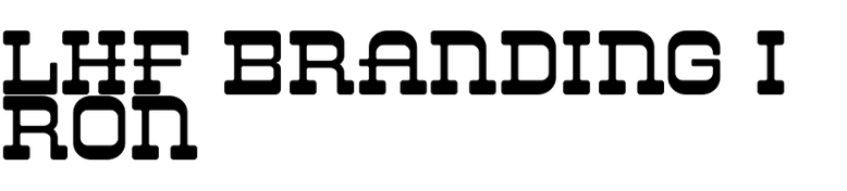 LHF Branding Iron