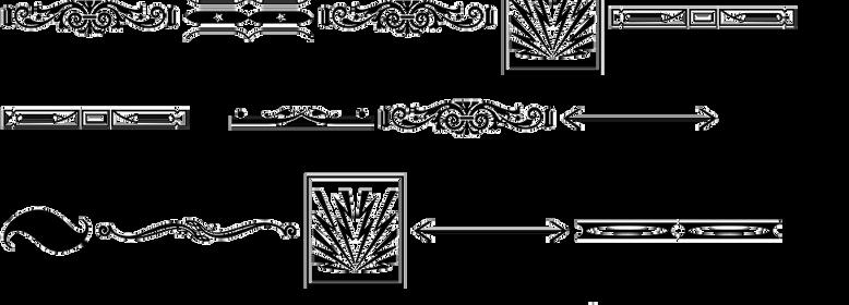 Letterpress Ornamentals JNL