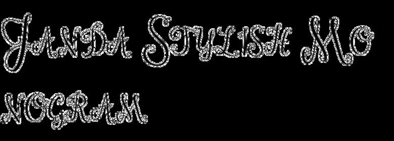Janda Stylish Monogram