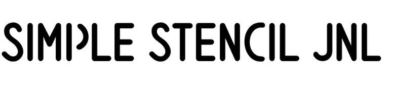 Simple Stencil JNL
