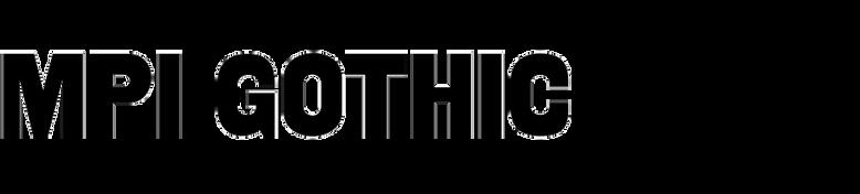 MPI Gothic