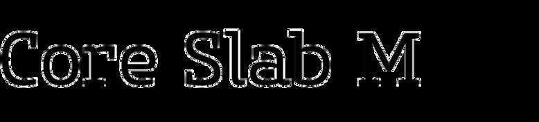 Core Slab M