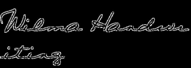 Wilma Handwriting