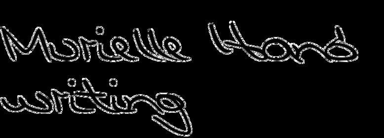 Murielle Handwriting