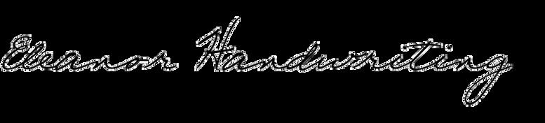 Eleanor Handwriting