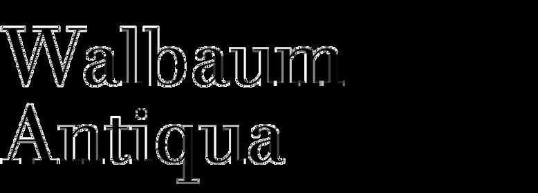 Walbaum Antiqua (RMU)