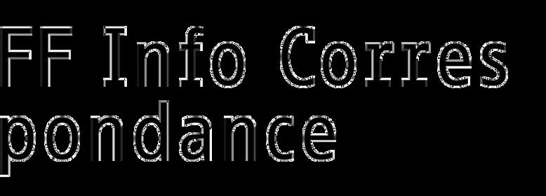 FF Info Correspondance