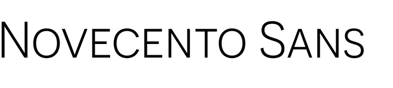 Novecento Sans