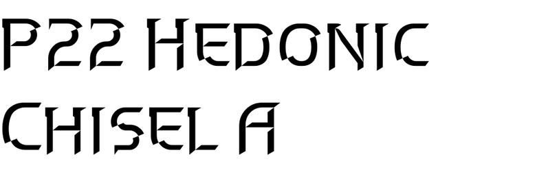 P22 Hedonic Chisel A