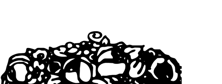 Mortised Fleurons
