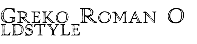Greko Roman Oldstyle
