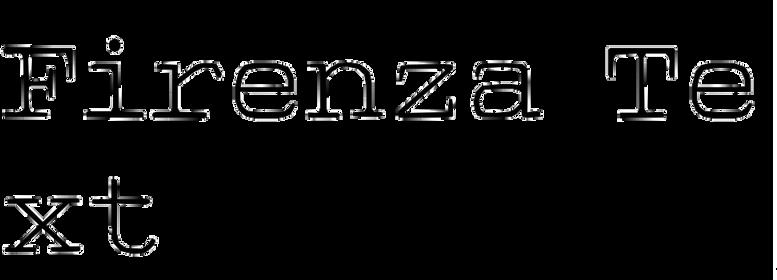 Firenza Text