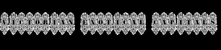 Victorian Exotical Capitals