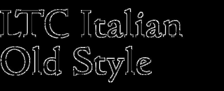 LTC Italian Old Style