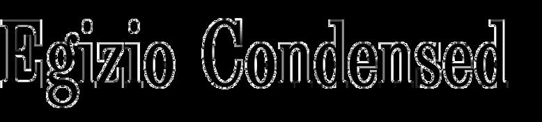 Egizio Condensed