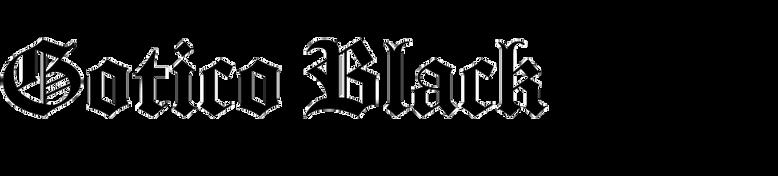 Gotico Black