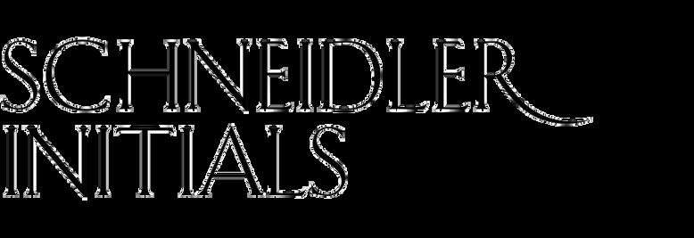 Schneidler Initials