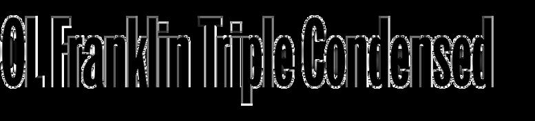 OL Franklin Triple Condensed