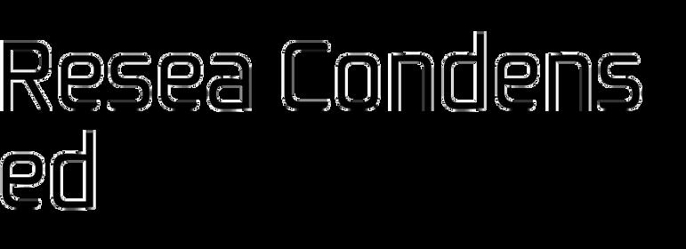 Resea Condensed