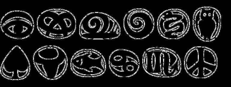 Frutiger Symbols