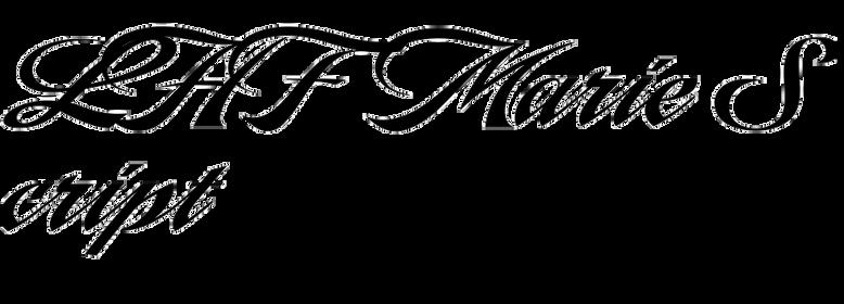 LHF Marie Script