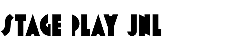 Stage Play JNL