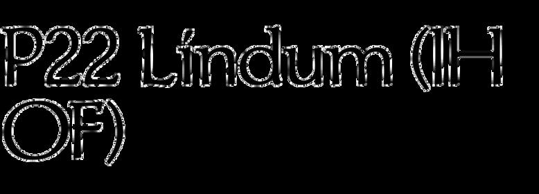 P22 Lindum (IHOF)